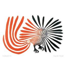 Enchanted Owl by Kenojuak Ashevak Matted