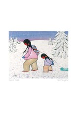 Winter Walk by Cecil Youngfox Matted
