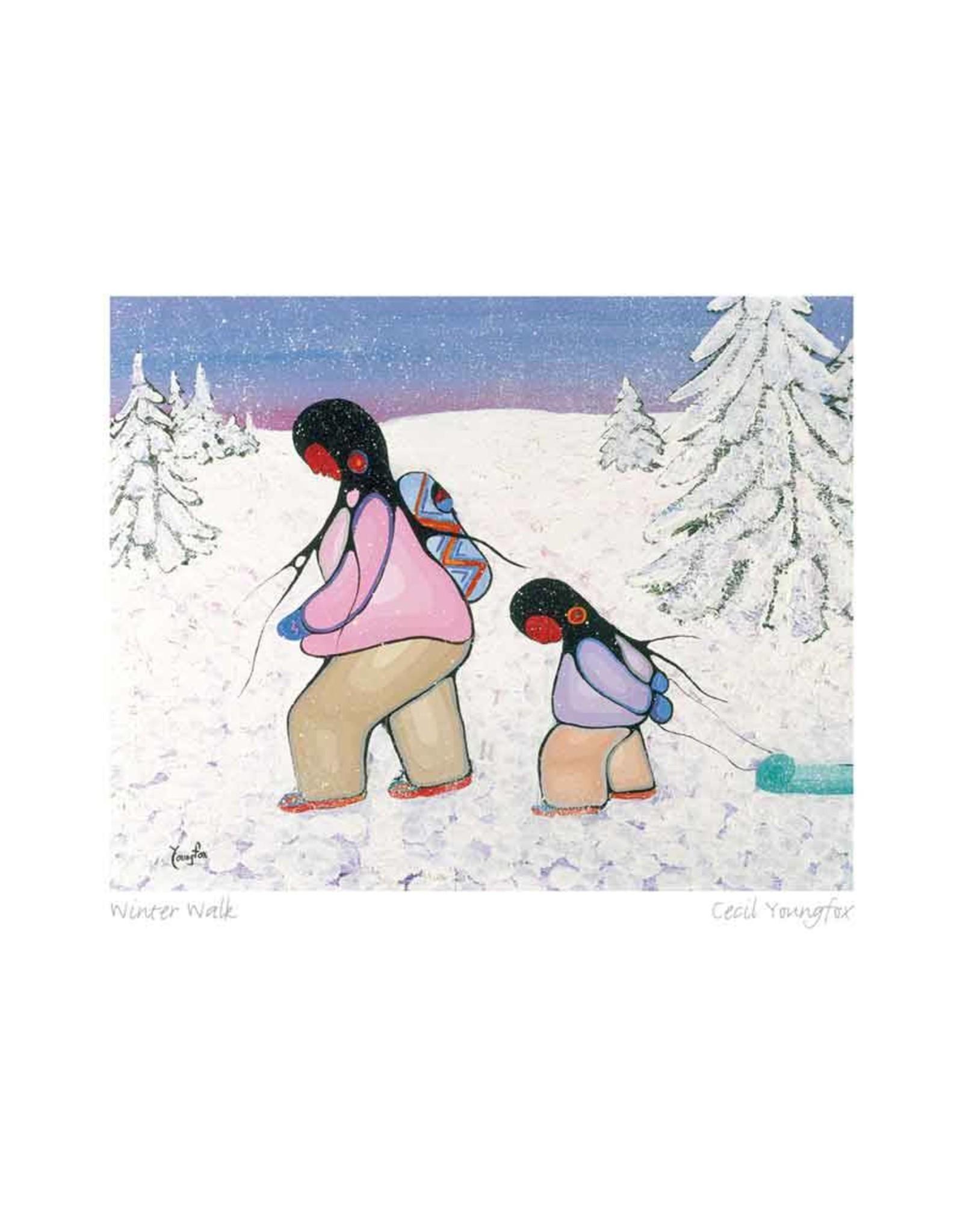 Winter Walk par Cecil Youngfox Montée sur Passe-Partout