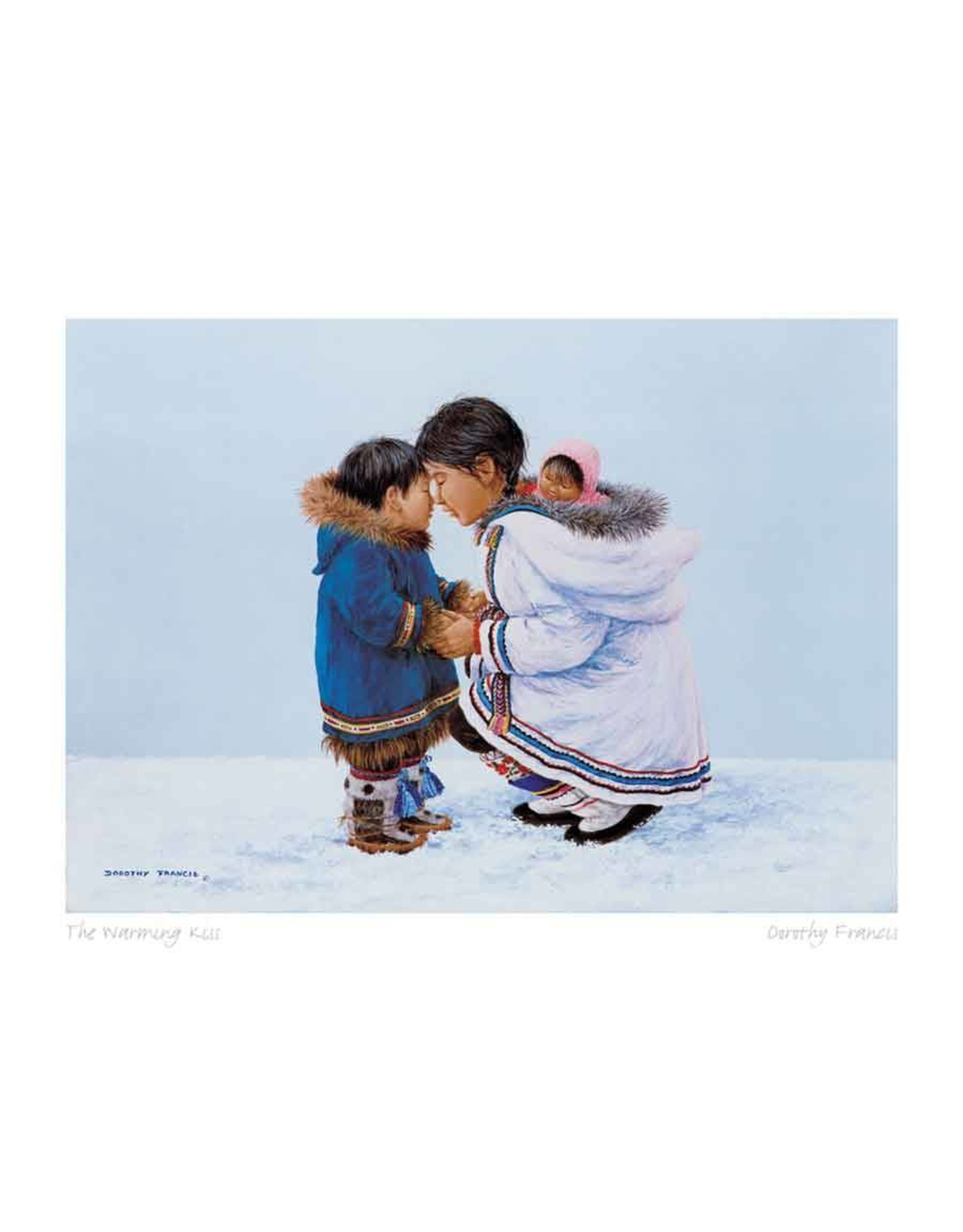 The Warming Kiss by Dorothy Francis Matted