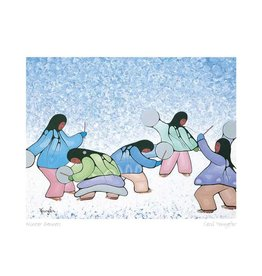 Winter Dancers by Cecil Youngfox Matted