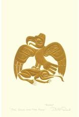 The Eagle and the Frog par Bill Reid Montée sur Passe-Partout