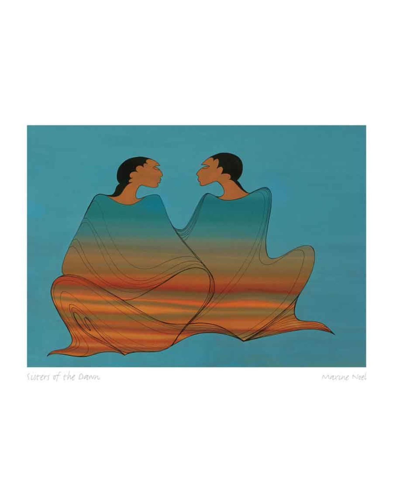 Sisters of the Dawn par Maxine Noel Montée sur Passe-Partout
