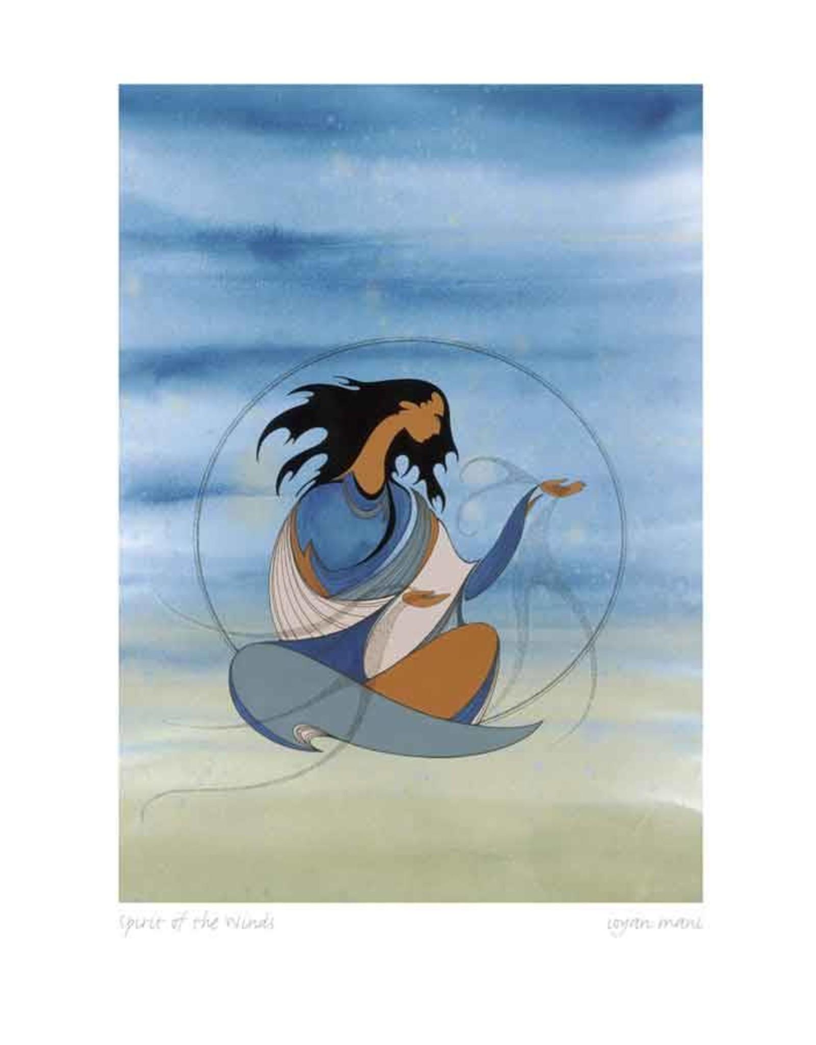 Spirit of the Wind by Maxine Noel Framed