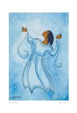Snowflakes by Maxine Noel Framed