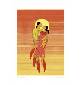 The Embrace by Maxine Noel Framed