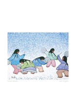 Winter Dancers by Cecil Youngfox Framed