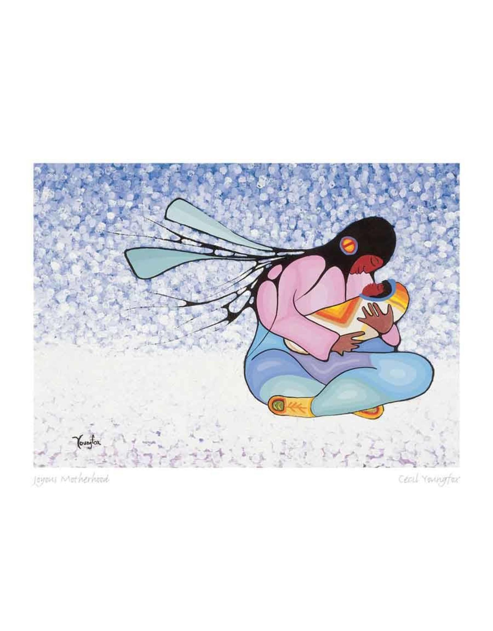 Joyous Motherhood by Cecil Youngfox Framed 3173
