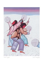 Snow Singers by Cecil Youngfox Framed