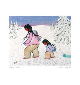 Winter Walk by Cecil Youngfox Framed