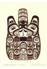 Haida Beaver - TTSAANG by Bill Reid Framed 7442