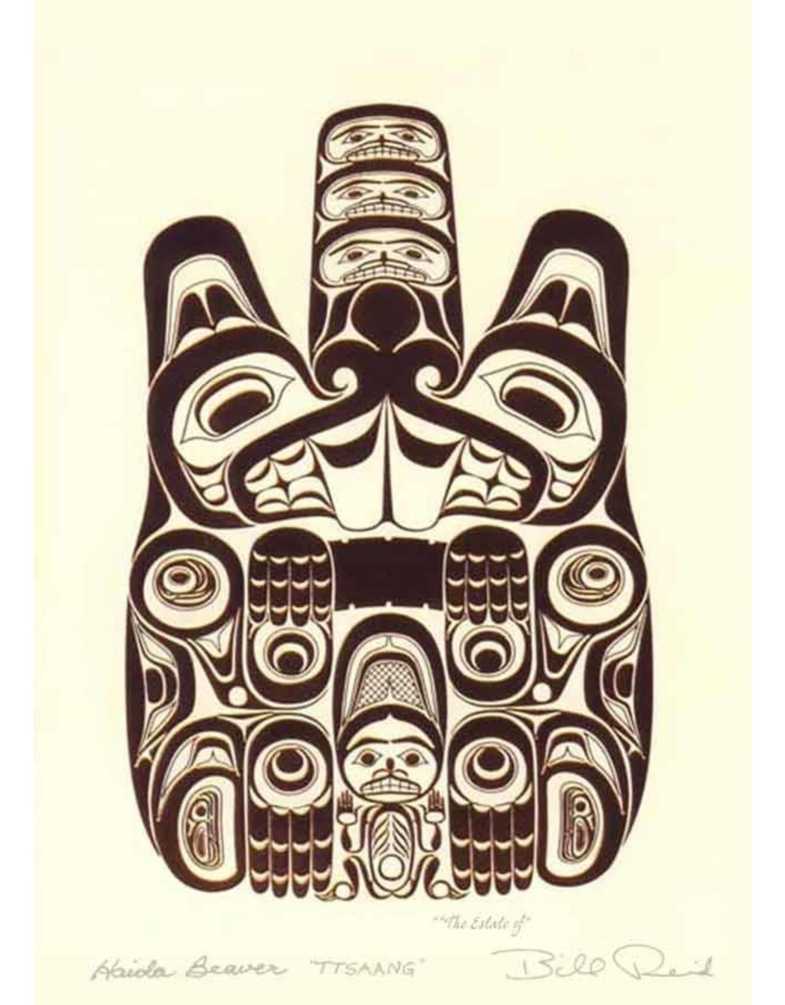 Haida Beaver - TTSAANG par Bill Reid 7442 Encadrée