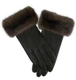 Mink Trim Gloves
