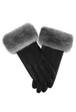 Mink Trim Gloves