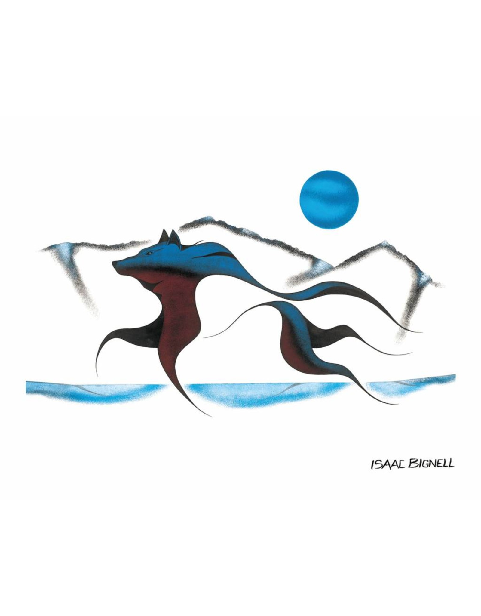 Wolf Spirit II by Isaac Bignell Limited Edition