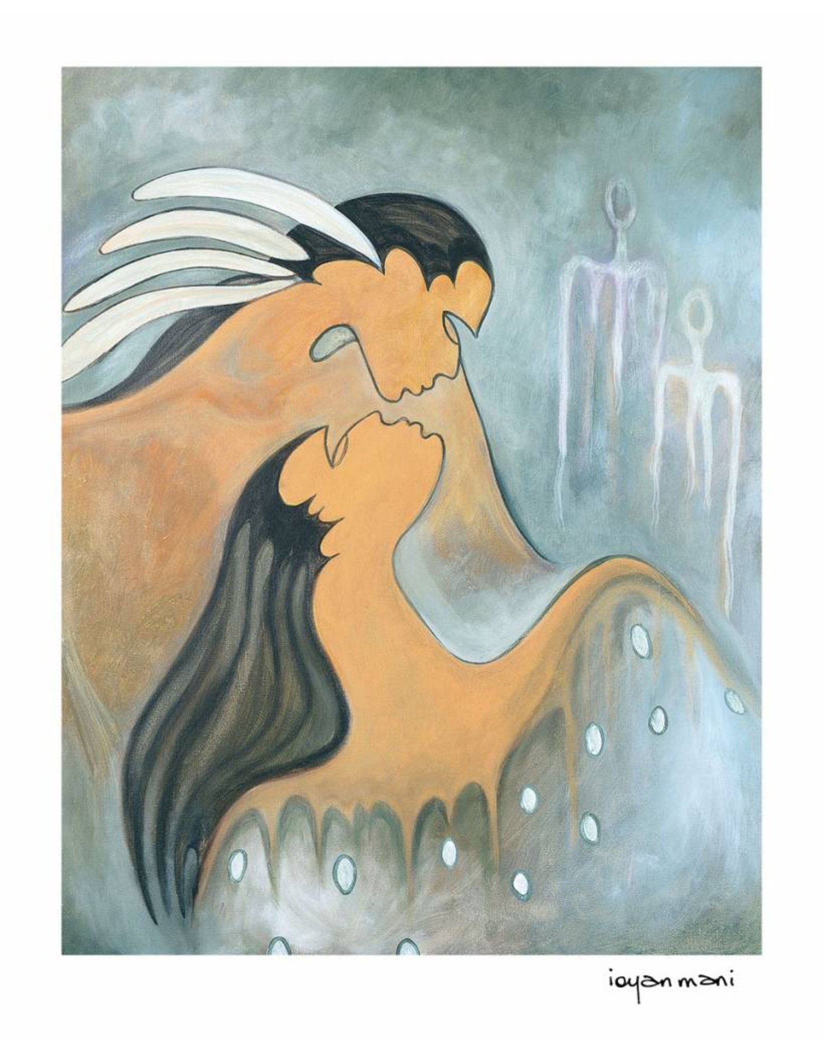 Soul Mates by Maxine Noel Limited Edition Framed
