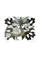 Flower Bird by Kenojuak Ashevak Matted