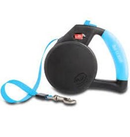 WIGZI WIGZI DOG LEASH GEL RETRACTABLE BLUE LG