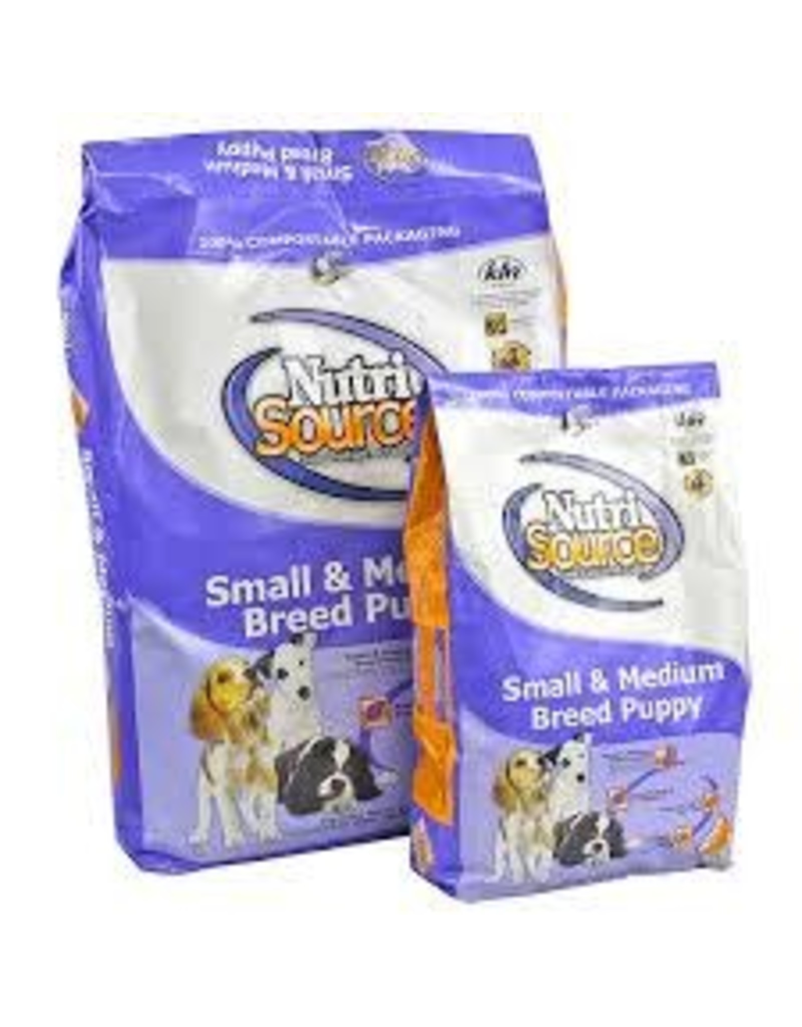 NUTRI SOURCE NUTRI SOURCE PUPPY SM/MD BREED, 18#
