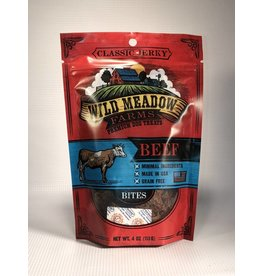 WILD MEADOWS WILD MEADOW FARMS BEEF BITES 4OZ