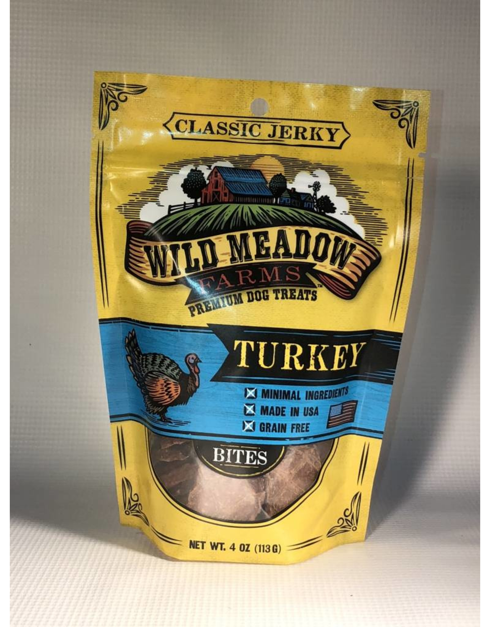 WILD MEADOWS WILD MEADOW FARMS TURKEY BITES 4OZ