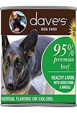 DAVE'S PET FOOD DAVE'S 95% BEEF 13OZ