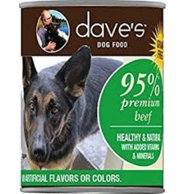 DAVE'S PET FOOD DAVE'S 95% BEEF 13OZ