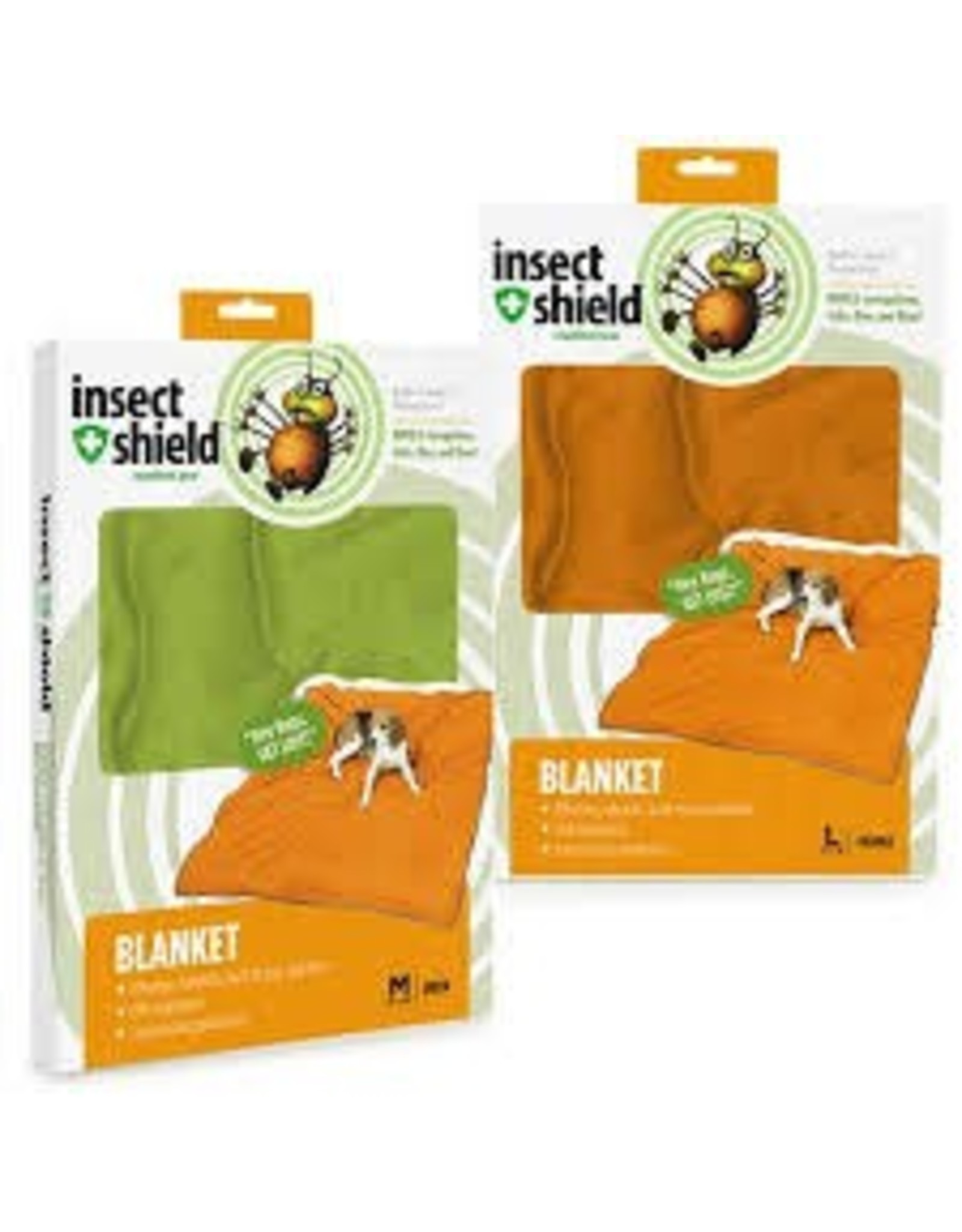 INSECT SHIELD BLANKET ORANGE