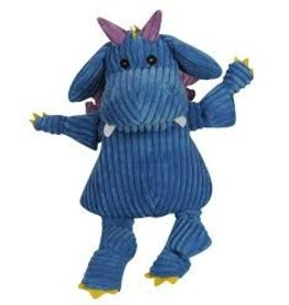HUGGLE HOUNDS HUGGLEHOUNDS DRAGON PUFF BLUE MD