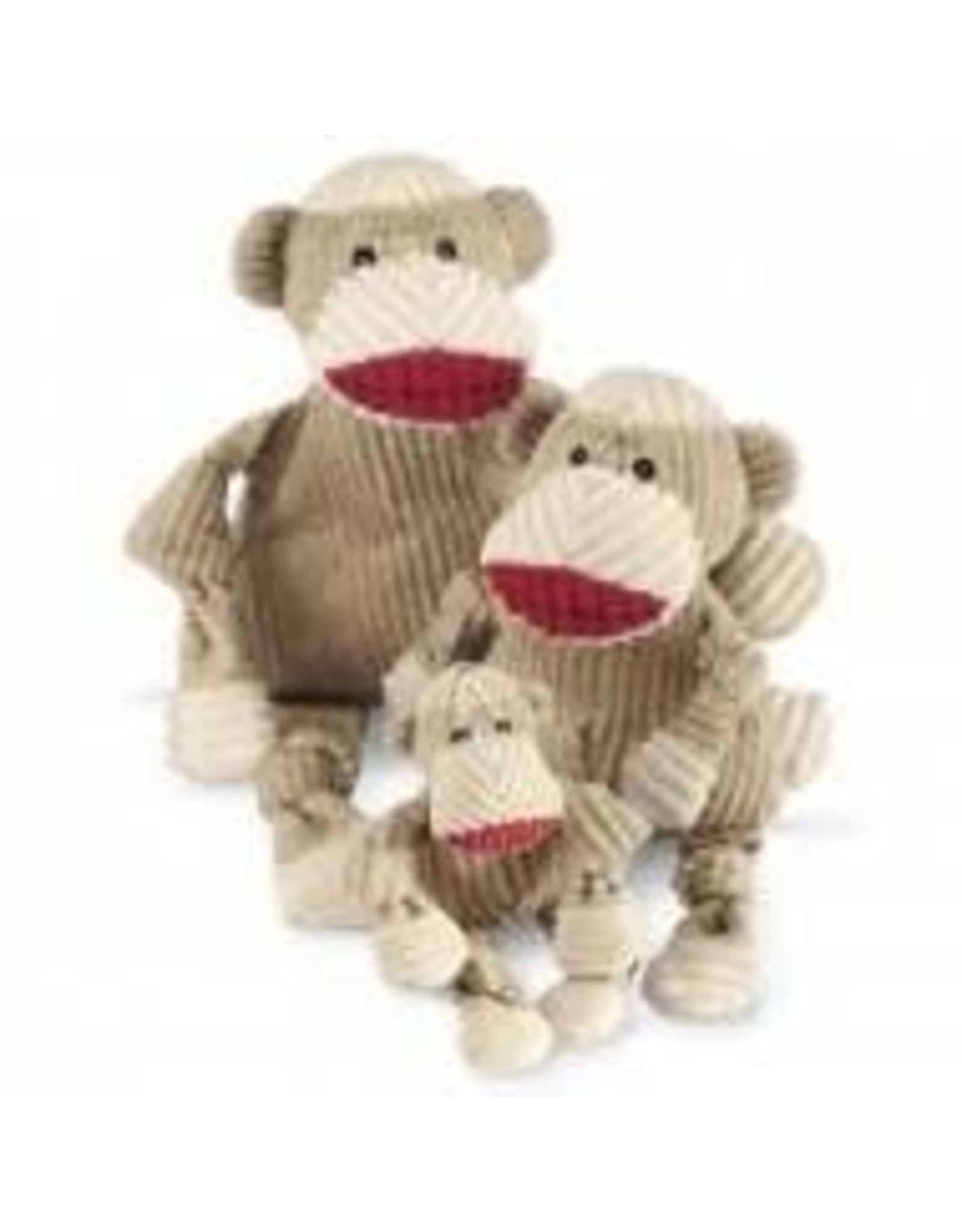 HUGGLE HOUNDS HUGGLEHOUNDS SOCK MONKEY LG