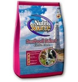 NUTRI SOURCE NUTRISOURCE GRAIN FREE SEAFOOD 15#