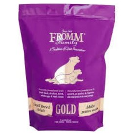 FROMM FROMM ADULT GOLD SMALL BREED 5#