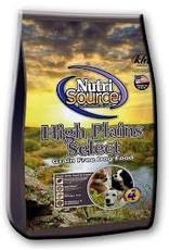 NUTRI SOURCE NUTRI SOURCE GRAIN FREE HIGH PLAINS 5#