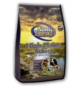 NUTRI SOURCE NUTRISOURCE GRAIN FREE HIGH PLAINS 5#