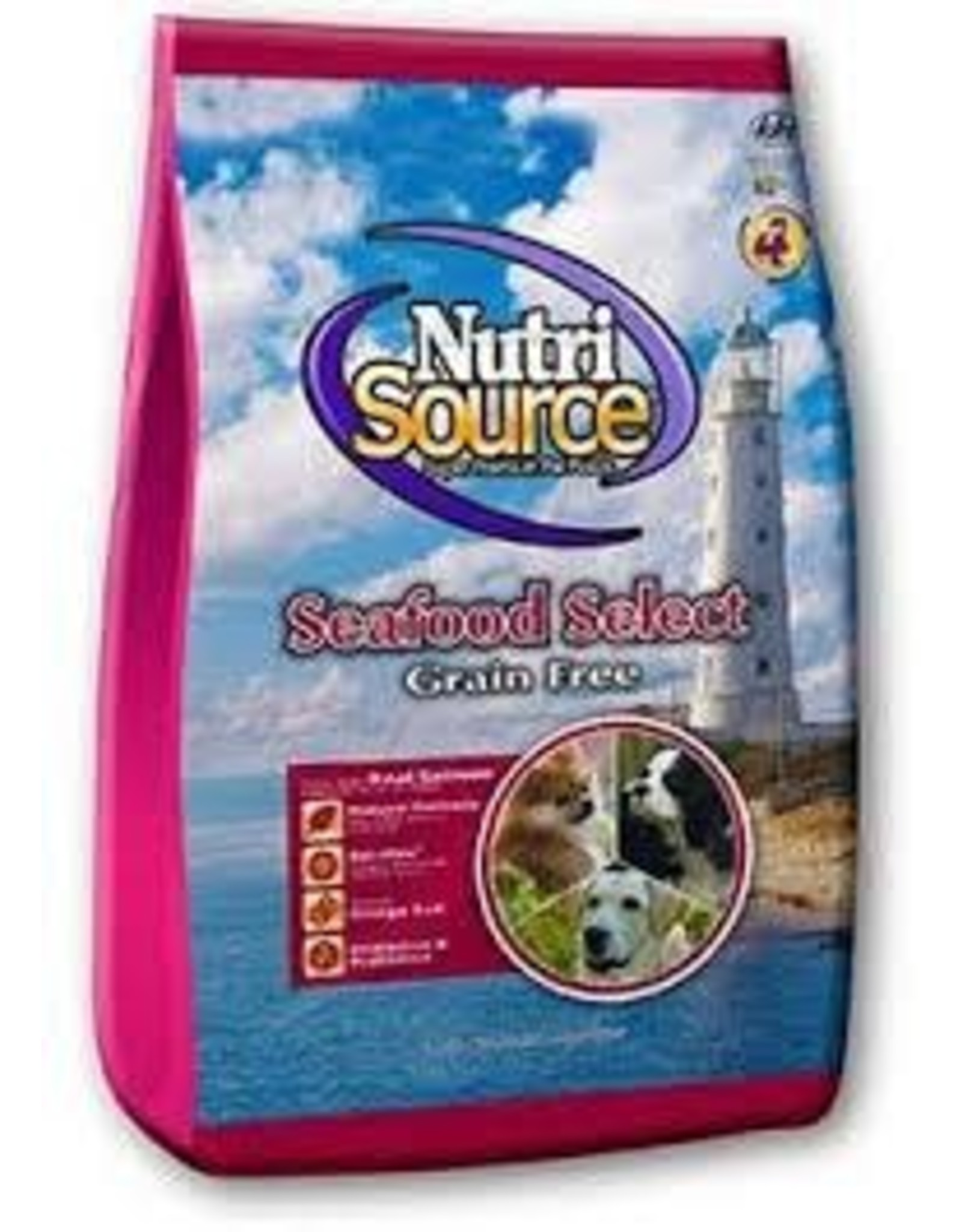 NUTRI SOURCE NUTRI SOURCE GRAIN FREE SEAFOOD 5#
