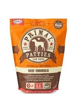 PRIMAL PRIMAL BEEF PATTIES 6#