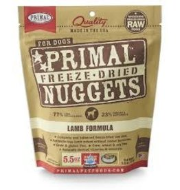 PRIMAL PRIMAL FREEZE DRIED LAMB 5.5OZ