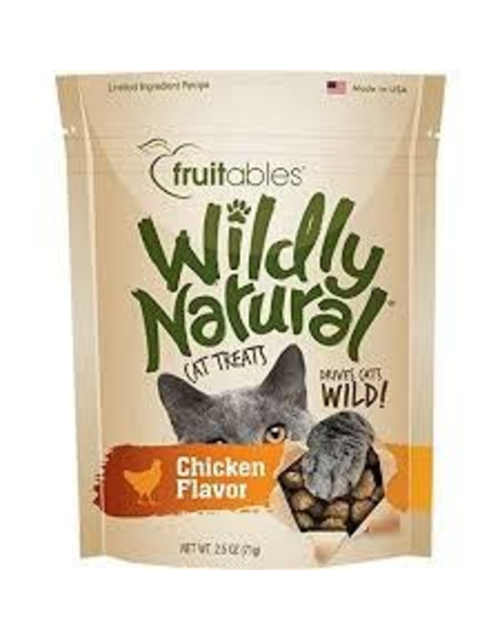 FRUITABLES FRUITABLES WILDLY NATURAL CHICKEN 2.5OZ