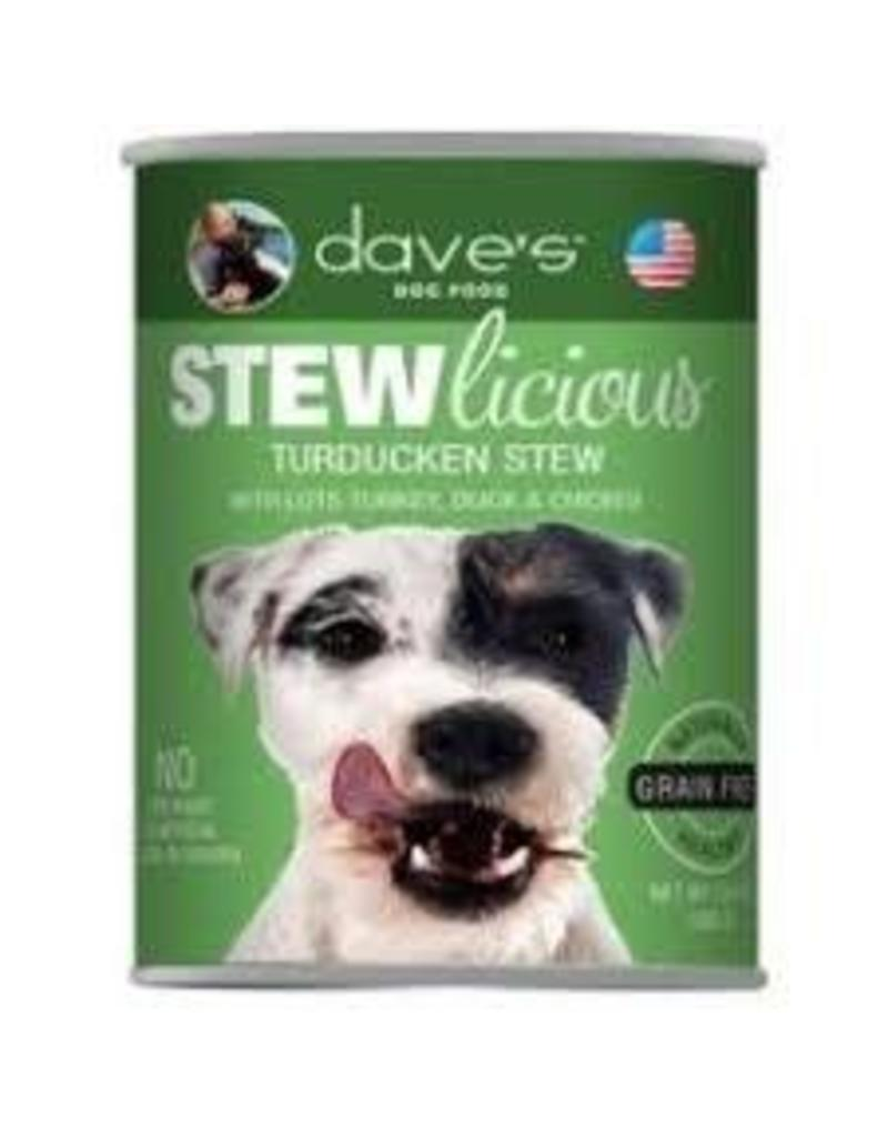 DAVE'S PET FOOD DAVE'S STEW GRAIN FREE TURDUCKEN 13OZ