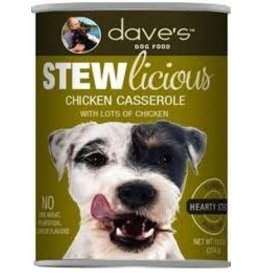 DAVE'S PET FOOD DAVE'S  STEW CHICKEN CASSEROLE 13.2OZ