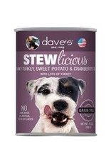 DAVE'S PET FOOD DAVE'S STEW GRAIN FREE TURKEY SWEETPOTATO
