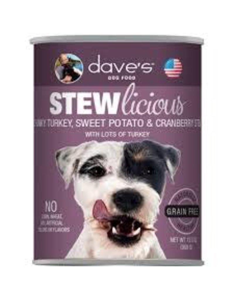 DAVE'S PET FOOD DAVE'S STEW GRAIN FREE TURKEY SWEETPOTATO