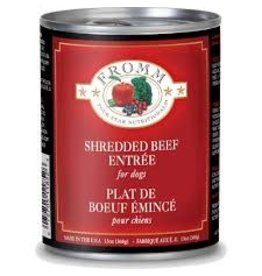 FROMM FROMM 4 STAR SHREDDED BEEF 12 OZ.