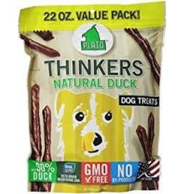 PLATO PET TREATS PLATO THINKER DUCK STICK 22OZ (EA)