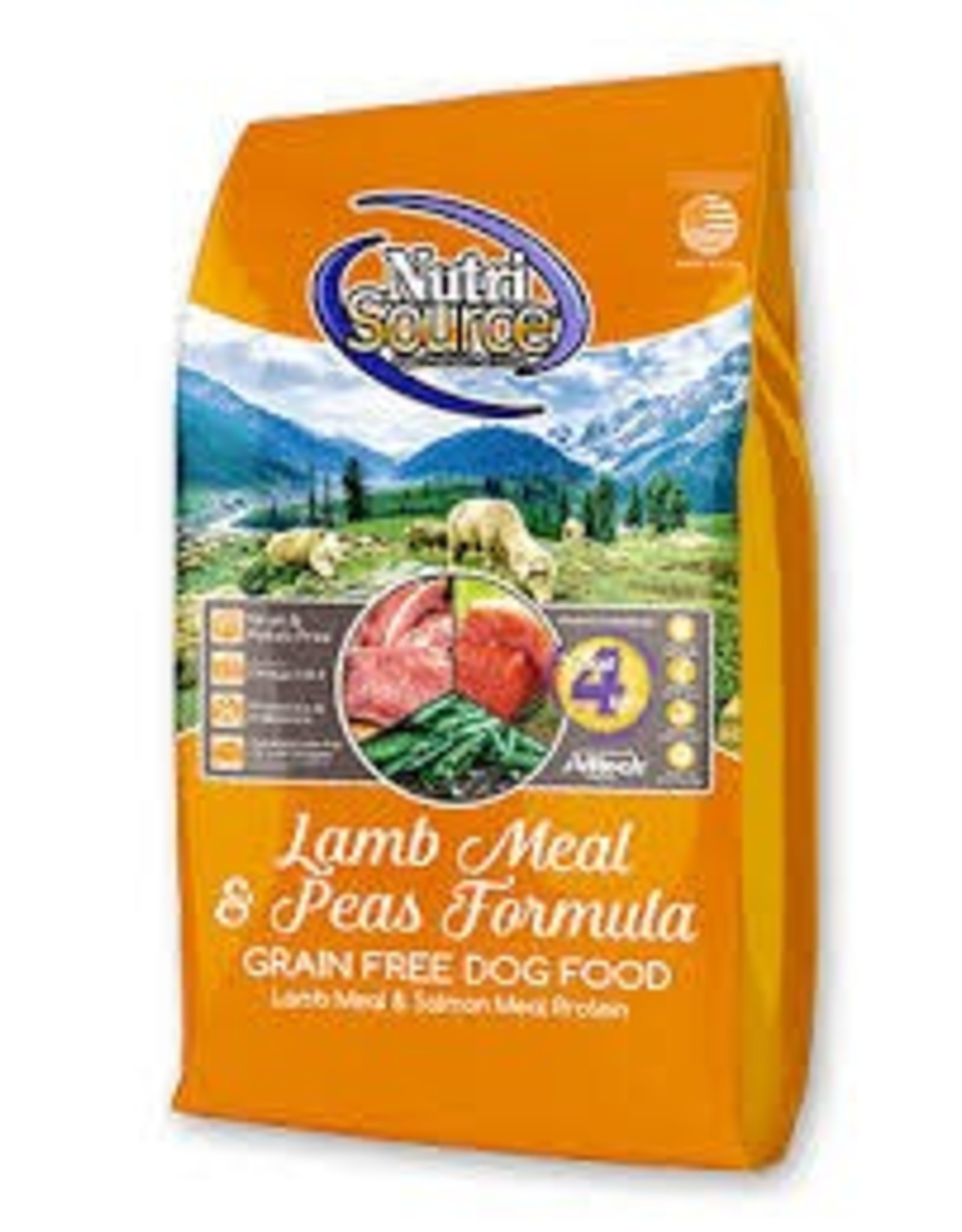 NUTRI SOURCE NUTRI SOURCE GRAIN FREE LAMB 5#