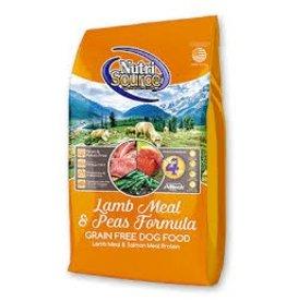 NUTRI SOURCE NUTRI SOURCE GRAIN FREE LAMB 5#