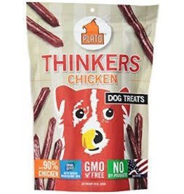 PLATO PET TREATS PLATO THINKERS CHICKEN STICKS 10OZ