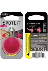 NITEIZE SPOTLIT COLLAR LIGHT PINK