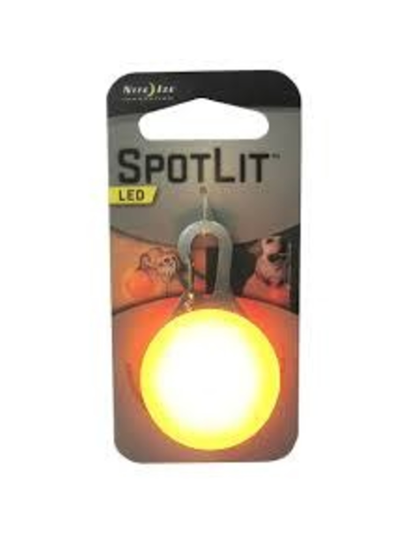 NITEIZE SPOTLIT COLLAR LIGHT ORANGE