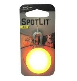 NITEIZE SPOTLIT COLLAR LIGHT ORANGE